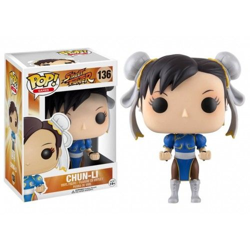 Funko Chun Li, Street Fighter, SF, Games, Funkomania