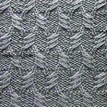 Knitting Cable Stitch Symbols : Stitches, Patterns and Stitch patterns on Pinterest