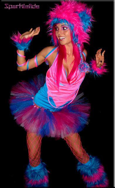 Traje de delirio cósmico encargo por SparkleFide en Etsy