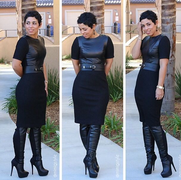 Mimi g black dress 3oh3