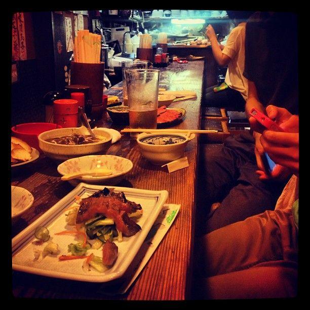 萬月 in 幡ヶ谷, 東京都. Score. Found it thanks the tabelog. http://umamimart.com/2009/08/Tokyo-JUNKtion-Mugi-toro-Don-at-MANGETSU/