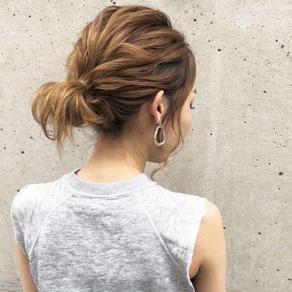 ミディアムヘアアレンジ特集 不器用さんでもできる簡単こなれヘアや
