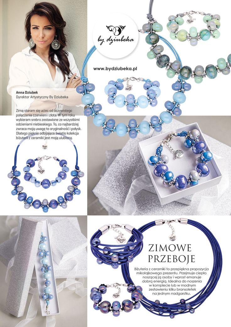 """Nasza dyrektor artystyczna, Anna Dziubek, na łamach magazynu """"Twój Styl"""" doradza, jaką biżuterię wybrać na zimę  #bydziubeka #jewerly # #fashion #style #magazine #pressroom #press"""
