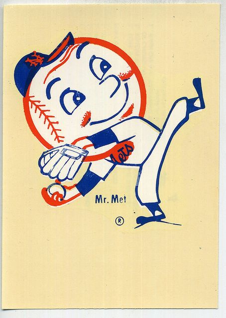 Mr Met decal | Flickr - Photo Sharing!