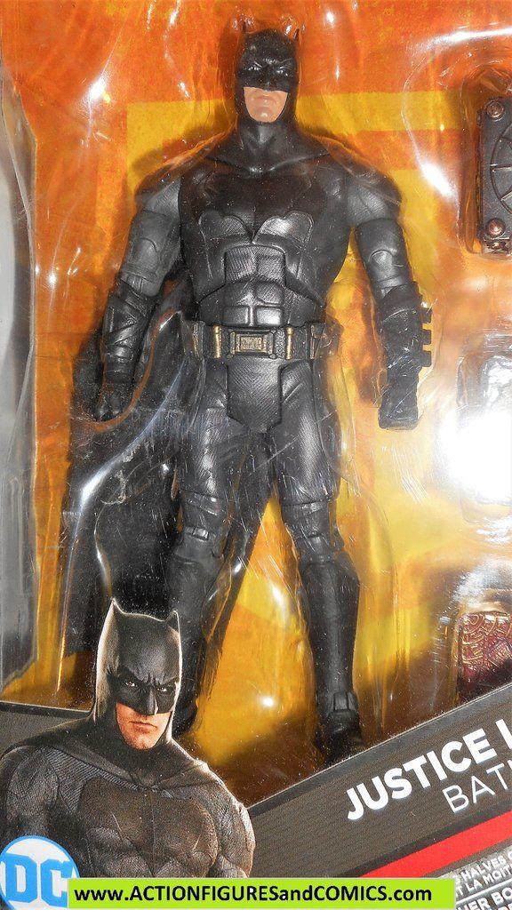 DC Comics Multiverse Mattel Justice League Movie Batman MOC!