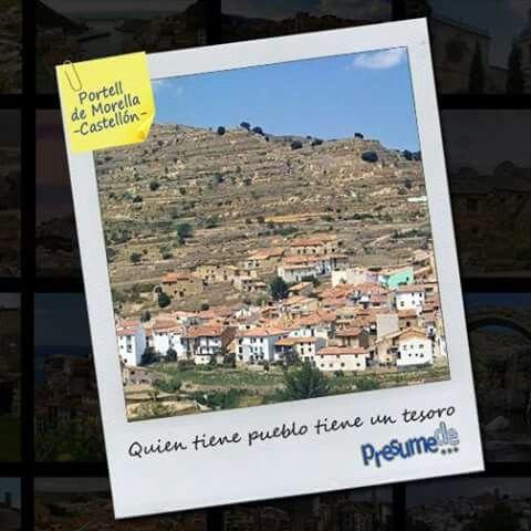 Pueblos de España: #Portell de #Morella (#Castellón) ¿es el tuyo?  Síguenos en www.facebook.com/presumede y #presumede pueblo! #portelldemorella #pueblosdecastellon #pueblosdelacomunidadvalenciana #pueblos