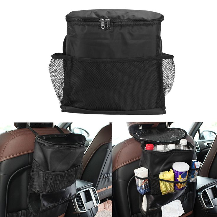 Car Auto Seat Back Hanger Bag Multi-Pocket Storage Organizer Holder Bag Thermal Insulated Food Storage