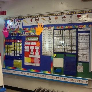 First Grade Calendar Board