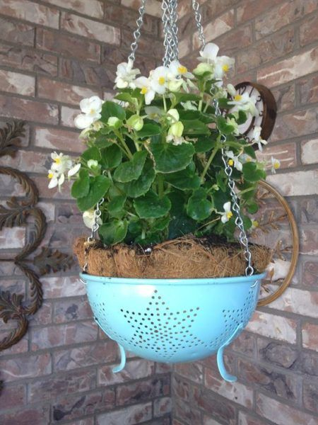 13 Repurposing Ideas For Old Colanders