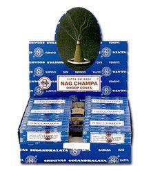 Satya Sai Baba Nag Champa Incense - Cones