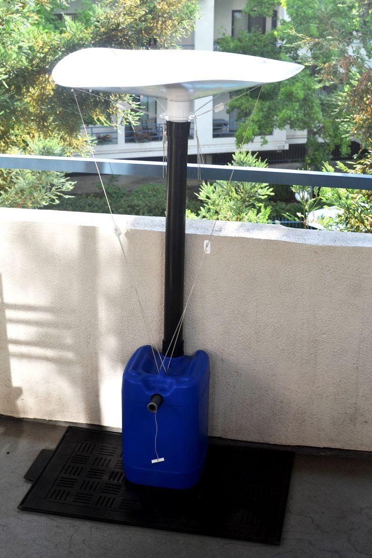 Balcony Barrel™- the Rain Barrel for your Balcony Garden and Watering Needs
