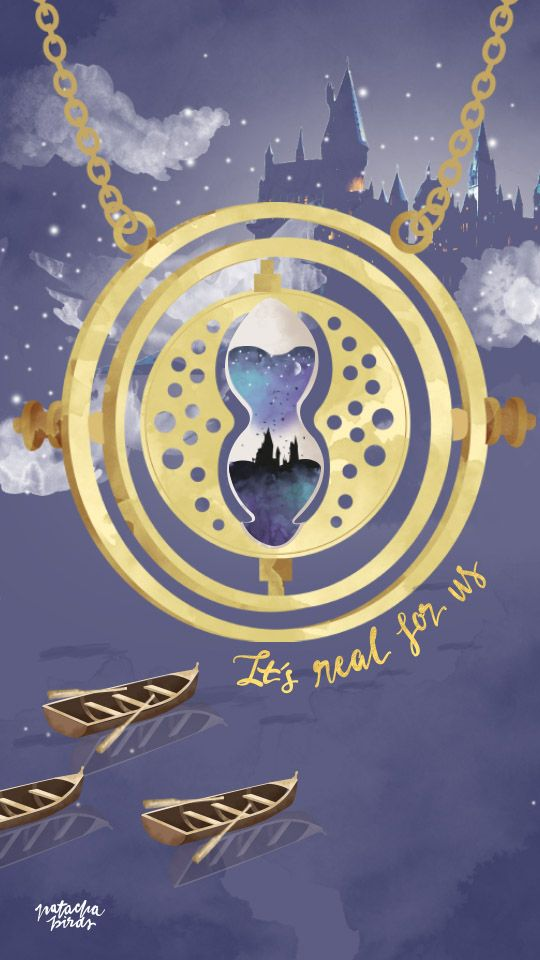 Hermione's Time Turner || Harry Potter iPhone Wallpaper