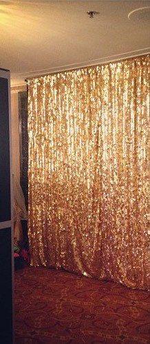 Photo backdrops gold photo backdrop sequin by FantasyFabricDesigns