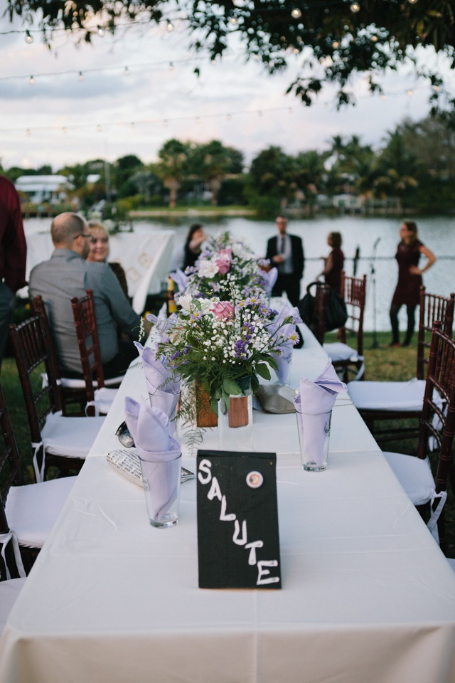 DIY Backyard Wedding Maria Dan In Davie