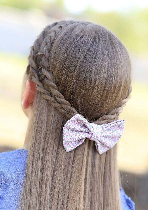 Stupendous 1000 Ideas About Easy Kid Hairstyles On Pinterest Kid Short Hairstyles For Black Women Fulllsitofus