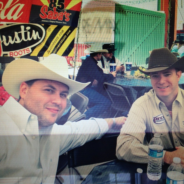 Lunch with the Mayor at the Queen Creek Rodeo. Jason is one of the major sponsors. Re/Max Property Shop yeehaw!