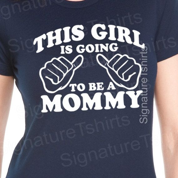 I need this shirt when i get pregnant! New Mom by signaturetshirts, $12.95