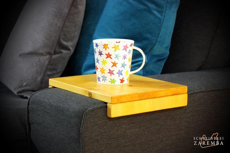 Armlehnen Ablage passend für IKEA SÖRVALLEN von Schreinerei-Zaremba auf DaWanda.com