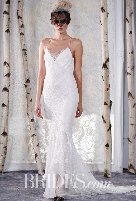 Brides: Elizabeth Fillmore - Fall 2016. Wedding dress by Elizabeth Fillmore
