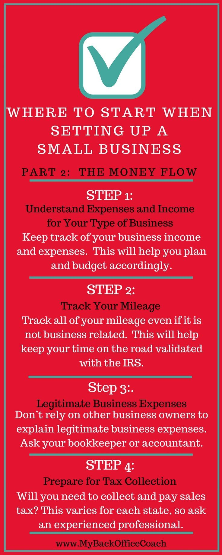 Where to Start When Setting Up a Small Business | Part 2:  The Money Flow #smallbusiness #moneyflow #bookkeeping #accounting #tips #taxes