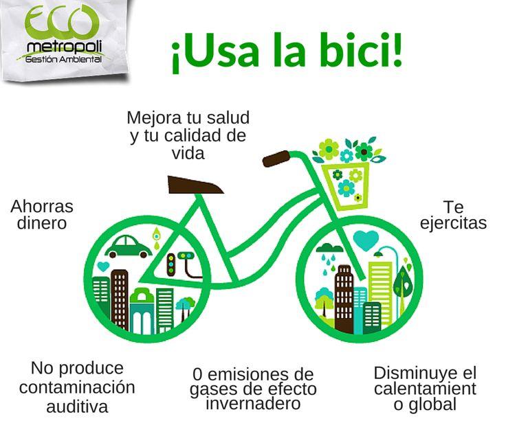 ¿Por qué usar #bicicleta? #Eco