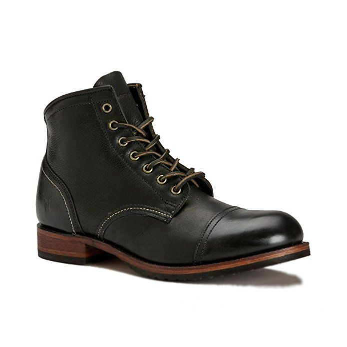 6fb6d216da6 Affiliate] FRYE Men's Logan Cap Toe Boot Black 9 D(M) US #Men #Boot ...