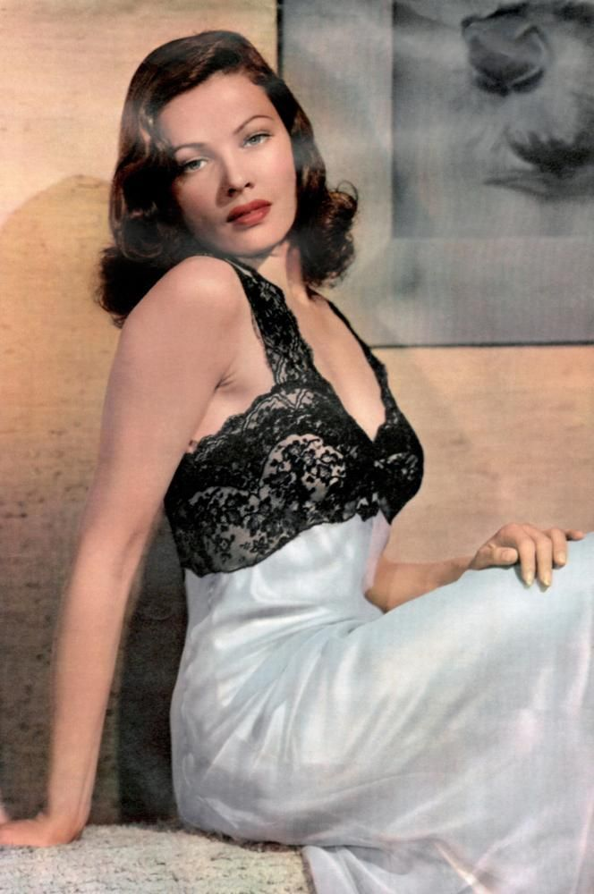 Gene Tierney. | Old Movie Fan That I Am II in 2019 | Gene ...