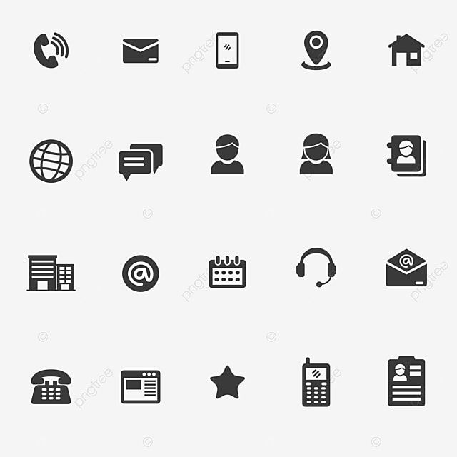 Conjunto De Icones Relacionados Com Contato No Design De Estilo Glifo Icone Telefone Contate Nos Imagem Png E Vetor Para Download Gratuito Glyphs Business Icon Icon