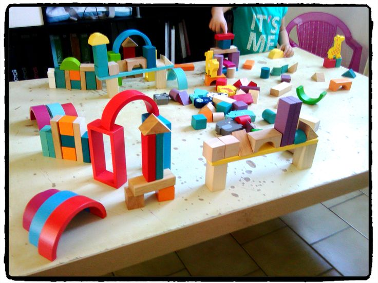 cubes de construction, jeux enfants