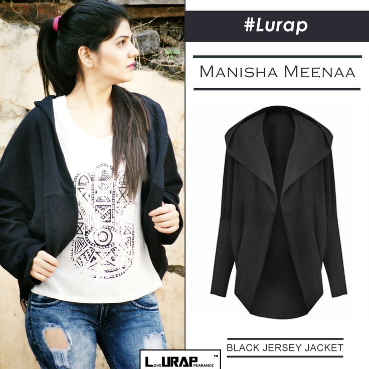 BLACK JERSEY JACKET- I bagged a few gorgeous pieces from LURAP, the leading online custom fashion portal for women. Take a look at one of the best winter jackets ,online that LURAP has to offer... Blog , Blogger ,  Customized Made Jacket , Fashion , Shopping , Winter Jacket , Lurap Reviews , Christmas Shopping Ideas