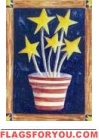 Growing Patriotism House Flag - 2 left