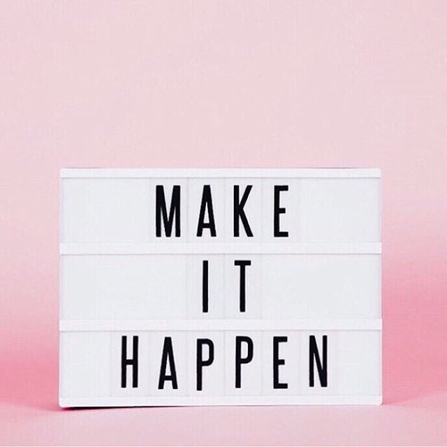 """Make it happen."""