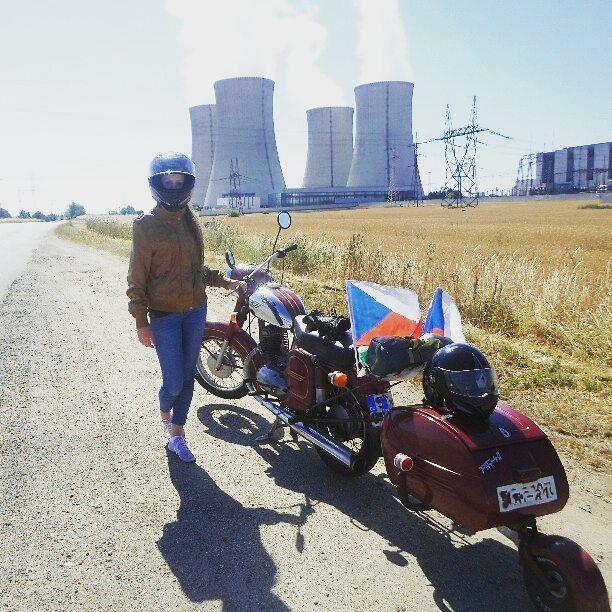 Jawa 250cc  Photo courtesy of @veronikapaulasova  More photos on - http://ift.tt/1MOOLiU (Link in Profile) | #jawa | #jawamotorcycles.com | #idealjawa| #2stroke | #chrome | #Cz | #biker | #motorcycles | #imtheindianbiker | #yezdi | #yjoci | #retro | #czech | #vintage | #vintagestyle |#india | #motorbike | #caferacer | #bikeporn | #instamotogallery | #dirt | #bike | #picoftheday | #gopro | #motocross | #motorcycleyard |