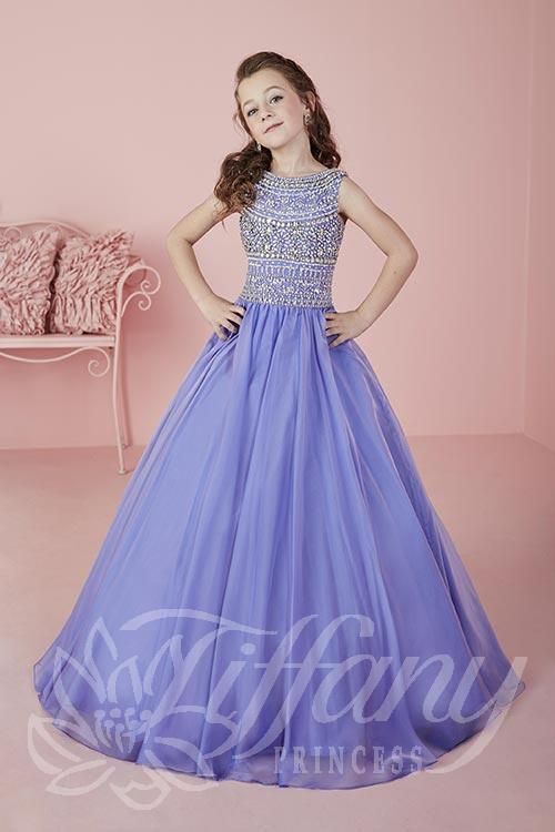 Tiffany Princess Little Girls Pageant Dress Style 13471
