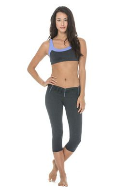 Scrunchy running tights - Heather Stripe - $92.95 - No wonder celebrities are clamouring for the scrunchy running tights, you can't take a bad photo in this gym wear. The waist detail supports and shapes your stomach, creating a smooth, flat line. #fireandshine #yoga #fashion #ethical #activewear #loungewear #bodylanguage #newarrival #justarrived #celebrity