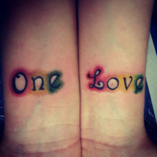 my one love tattoo �� fresh ink rasta pinterest