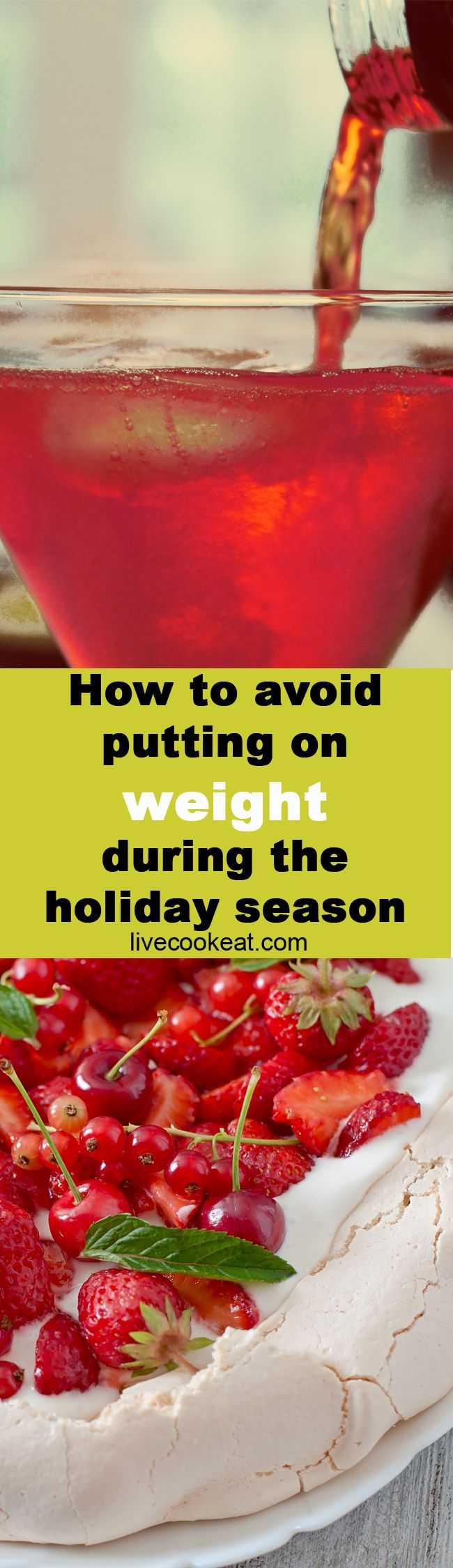Avoid that spare tyre and having to buy new jeans next year. Try these tips to help you make it through the holiday season without putting on weight