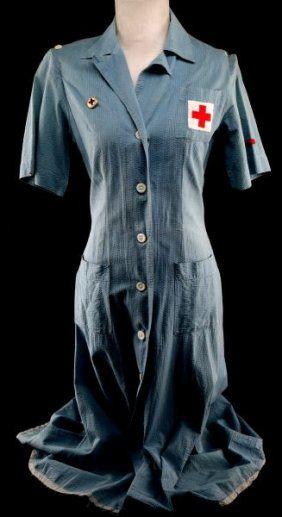 WWII Red Cross Volunteer Nurse Uniform