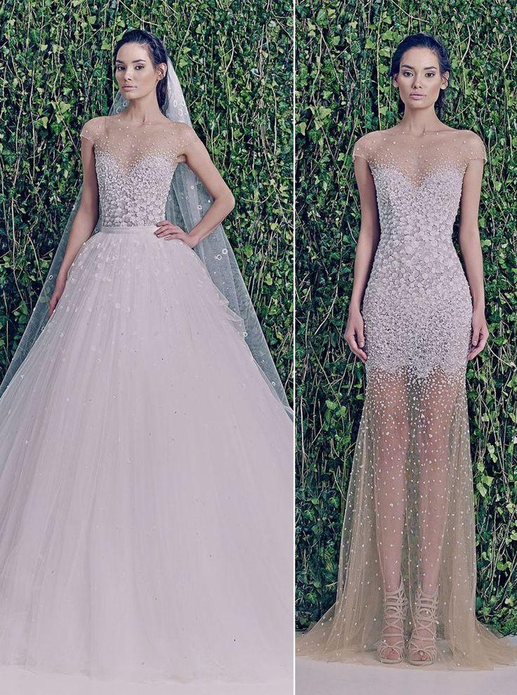Dois vestidos em um: sobre saias para vestidos de noiva