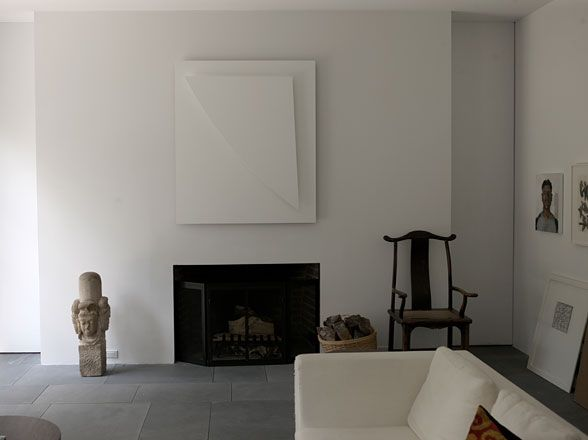 Ellsworth Kelly's living room