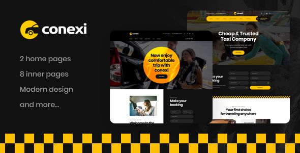 Conexi Taxi Booking Service Wordpress Theme In 2021 Traveling By Yourself Booking Wordpress Theme