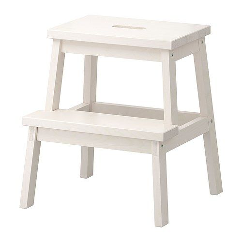 BEKVÄM Step stool IKEA Solid wood, a hardwearing natural material. Hand-hole in the top step makes the step stool easy to move. £14