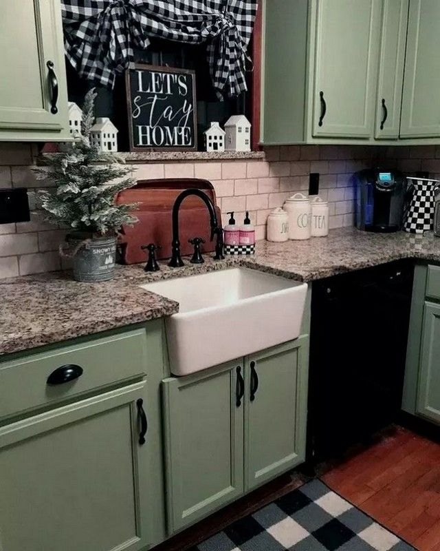 14 Beautiful Modern Farmhouse Kitchen Decor Ideas To Be ... on french provincial kitchen table, mobile home remodeling ideas, cottage kitchen table, cabin kitchen table, apartment kitchen table, money on kitchen table, modular kitchen table,