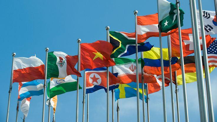Las banderas de los países africanos