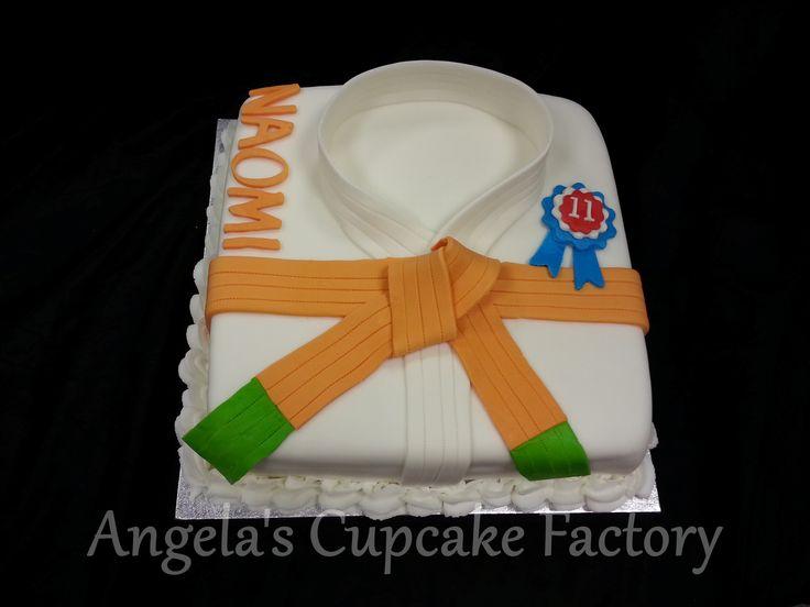 Judo cake for Naomi's 11th birthday Judo taart voor de 11e verjaardag van Naomi