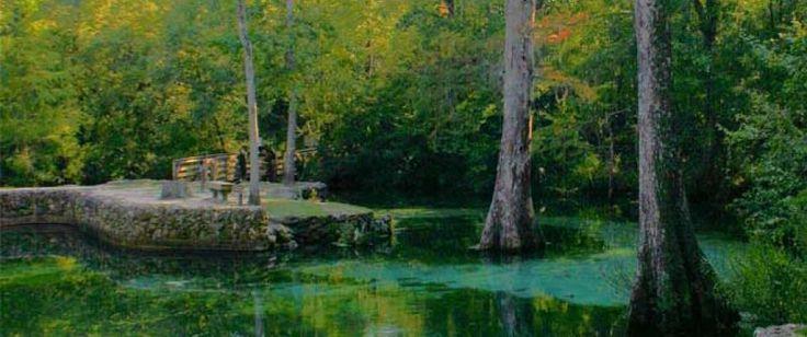 Ponce de Leon Springs State Park, Florida