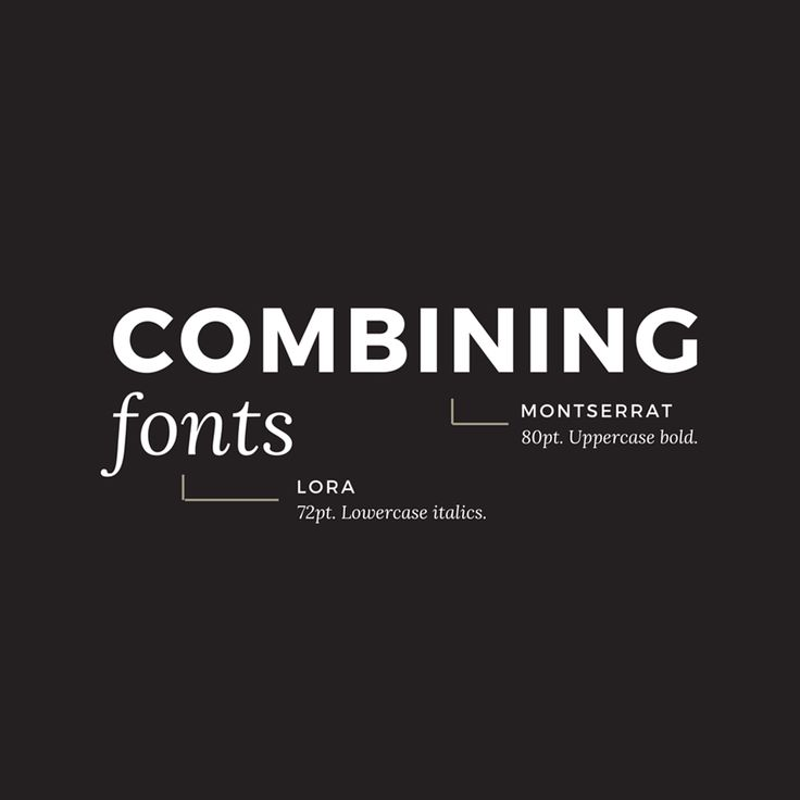 10 Golden Rules You Should Live By When Combining Fonts: Tips From a Designer