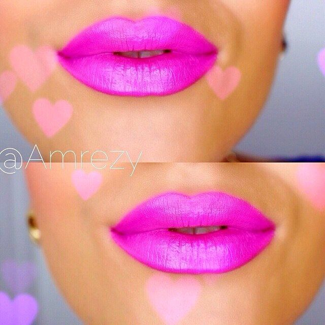 beautiful hot pink lipstick @amrezy | CoLor Me Gorgeous ...