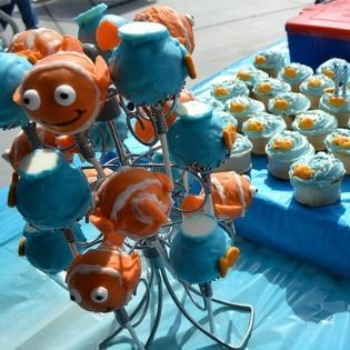 3-Year-Old Birthday Party Ideas for a Finding Nemo ThemeNemo Parties, Nemo Theme, Birthday Parties, Parties Ideas, 3Rd Birthday, 3 Years Old Birthday, Birthday Party Ideas, Finding Nemo, Birthday Ideas