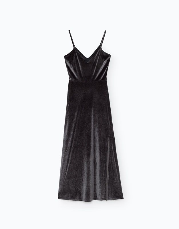 VESTIDO VELVET - NEW - Woman - | Lefties Portugal